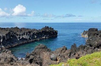 Coast in the Azores