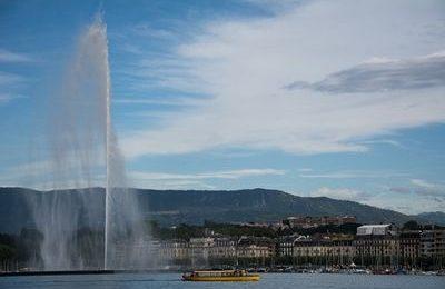 Jet D'eau, Geneva Lake